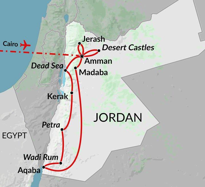 Jordan Egypt Map.Pyramids Petra Cairo Jordan Holiday Egypt Uncovered
