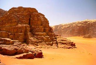 Post-tour Wadi Rum camp & Amman Tour